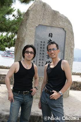 広島厳島神社にて